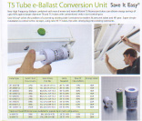 T5 Tube e-Ballast Conversion Unit